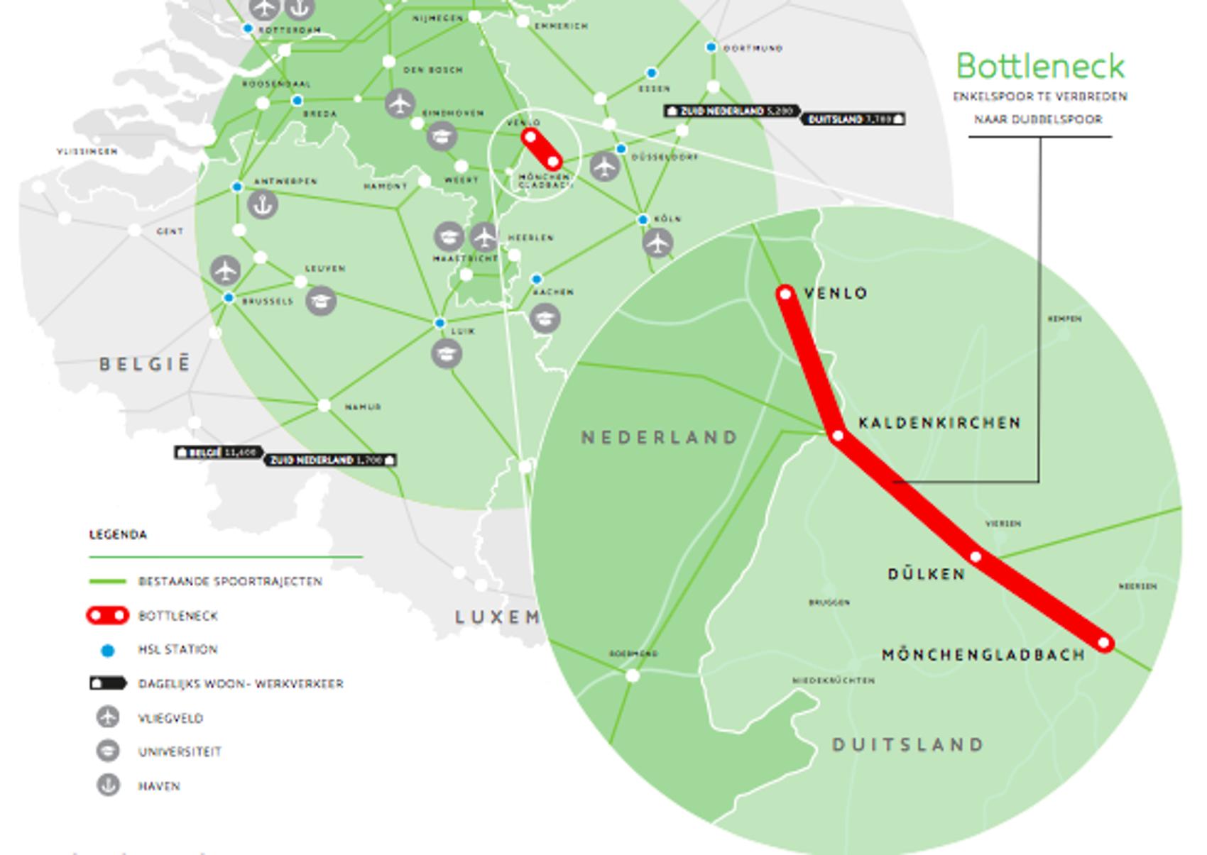 Mooie stappen voor grensoverschrijdend treinreizen