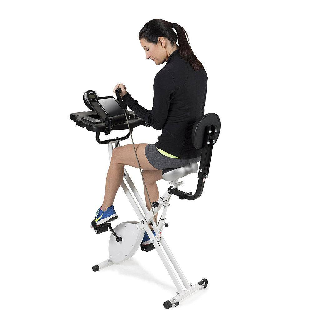 cardiodesk under desk elliptical exercise cycle bike