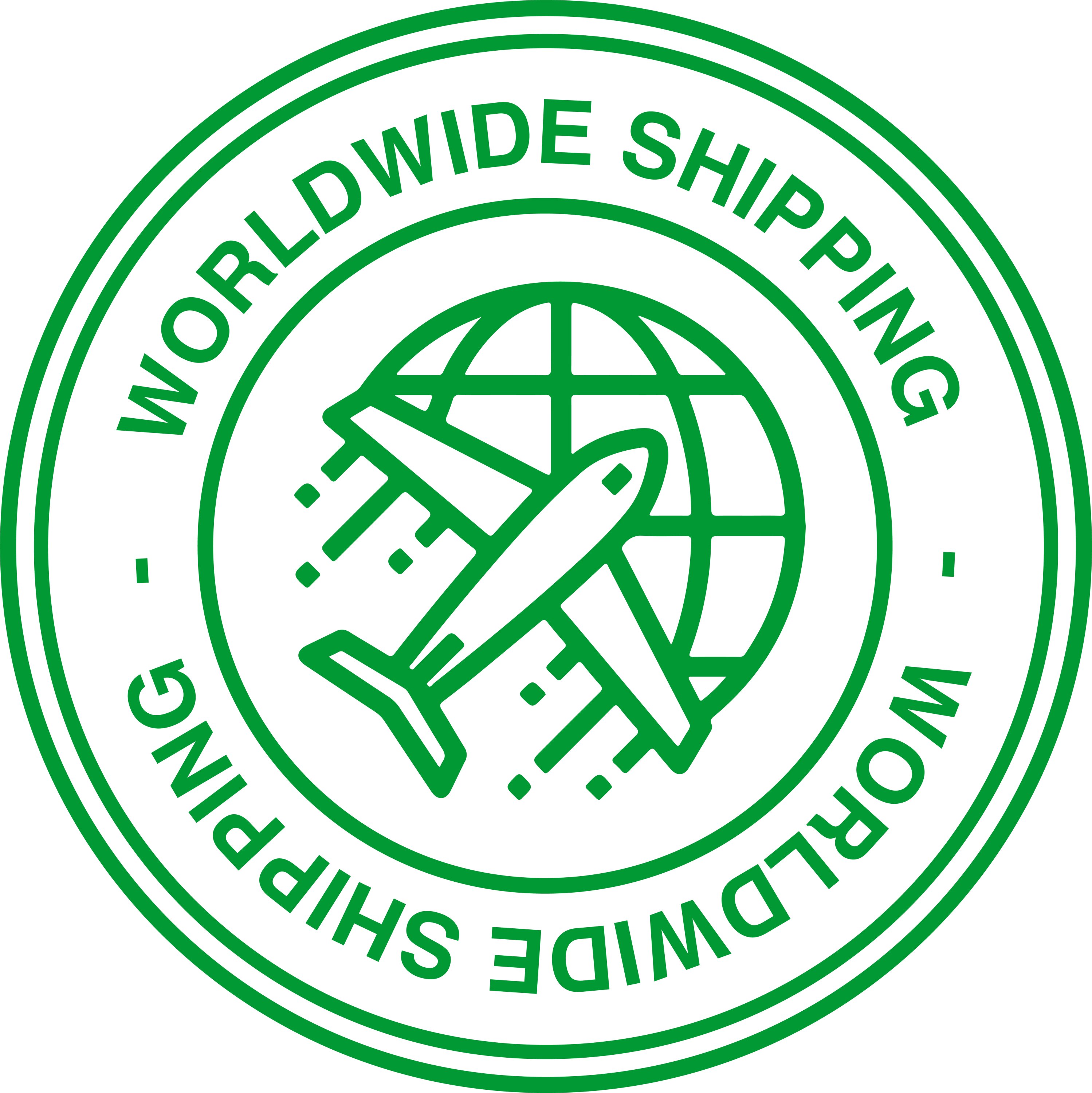 Wordwide Shipping