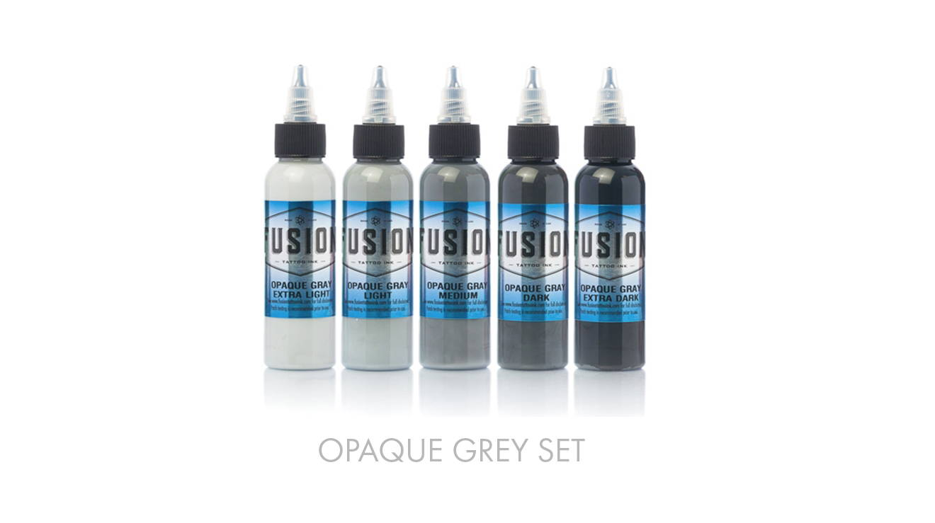 grey ink set