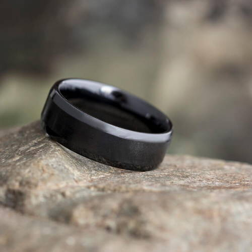 Black Gold Wedding Rings
