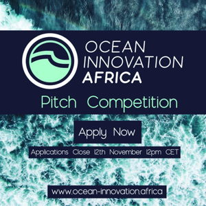 Deadline: Ocean Innovation Africa Pitch Competition