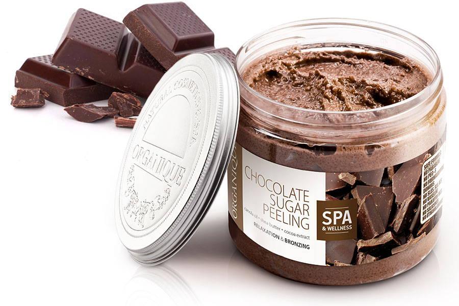 Bronzing Chocolate Body Sugar Peeling