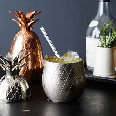 W and P Design Pineapple Barware Collection