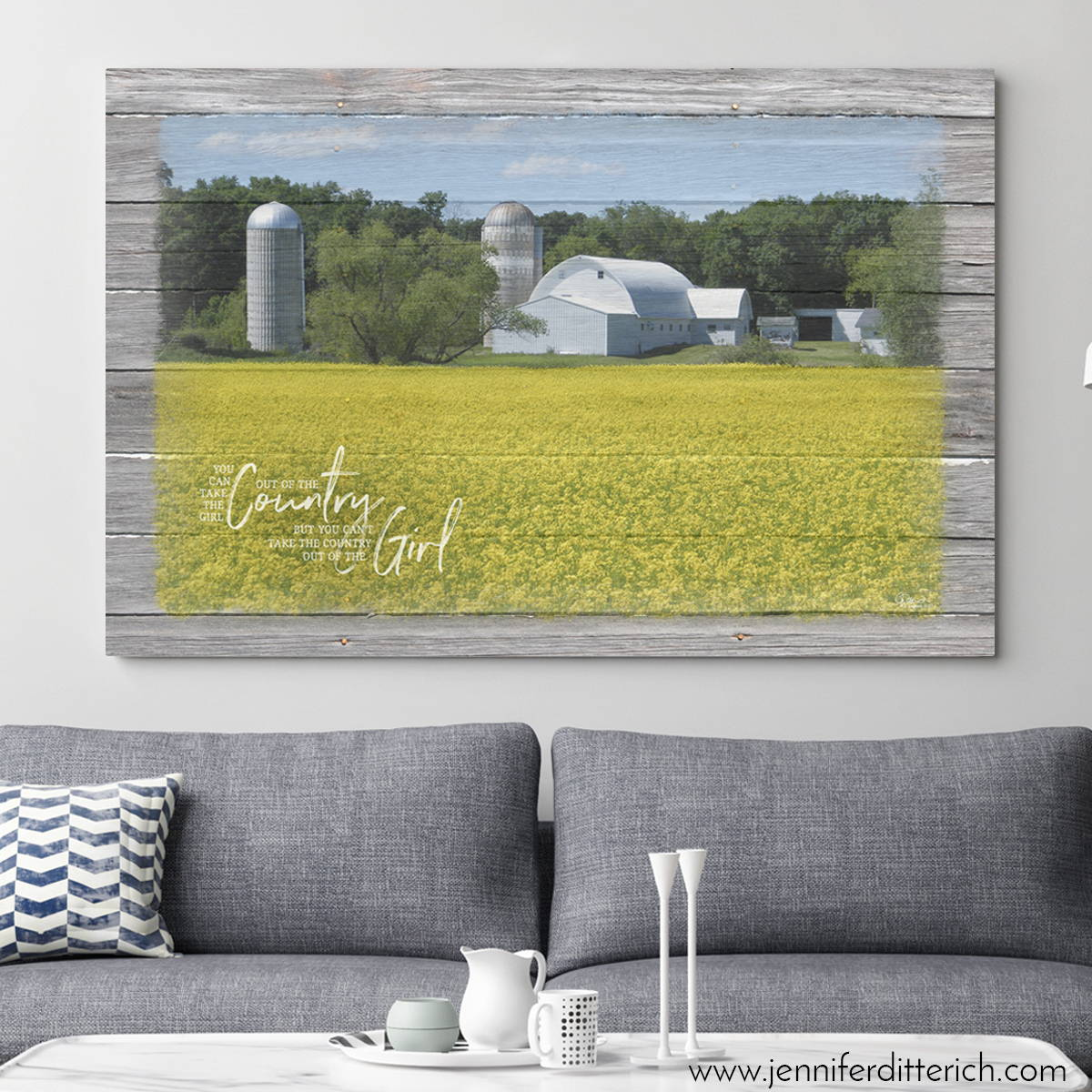 Family Farm Print
