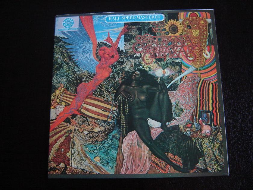 Santana - Abraxas - CBS 1/2 Speed Master Beautiful Sound!