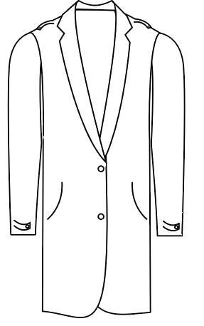 Tailormate   jakke i militær stil