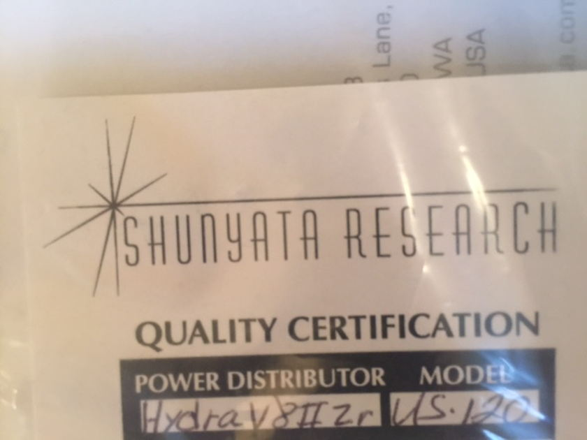 Shunyata Research Hydra V-Ray II Excellent condition