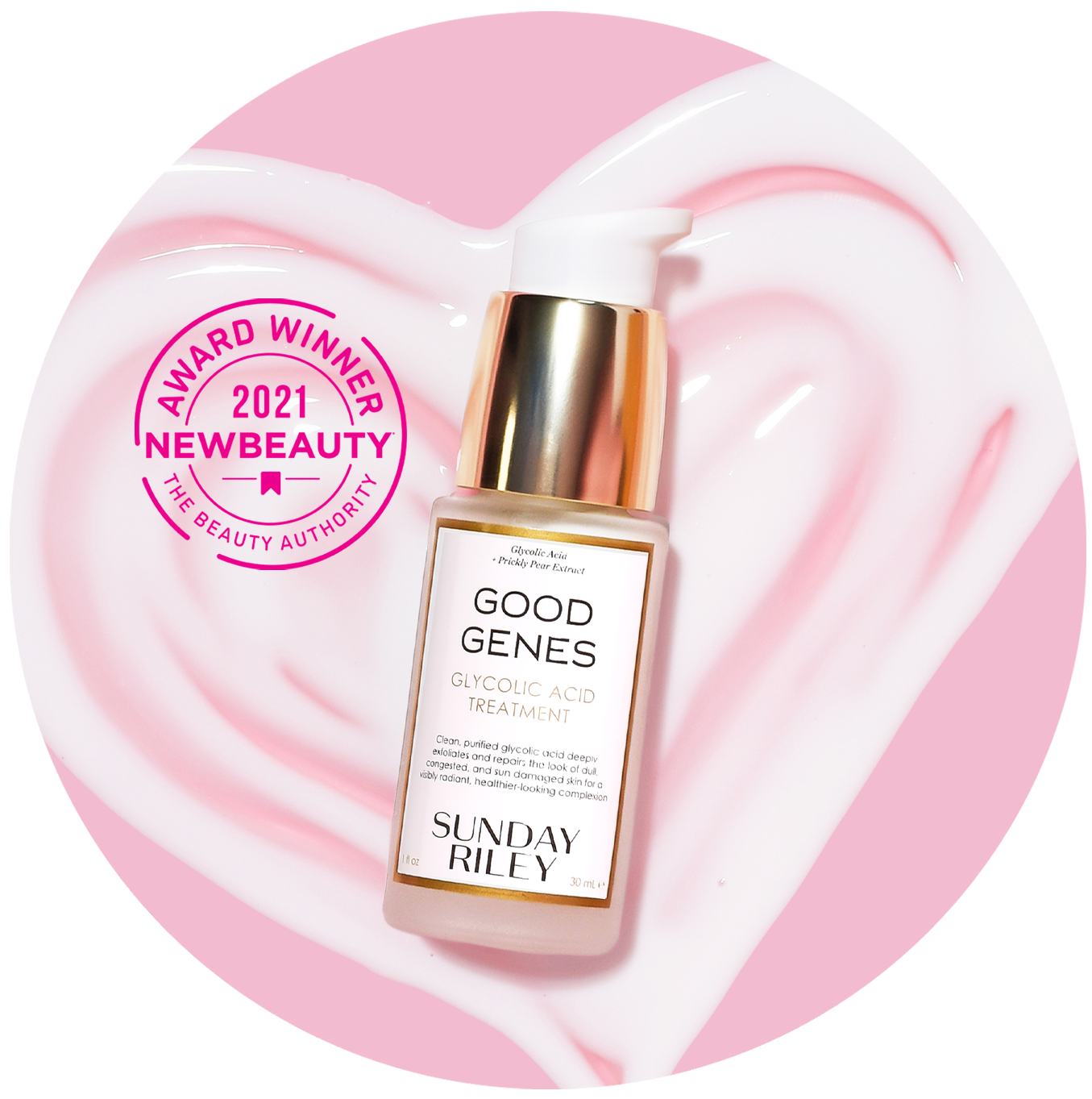 An award-winning treatment serum thatinstantly delivers an all-day glow.