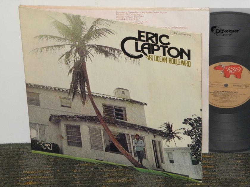 Eric Clapton - 461 Ocean Boulevard German Import RSO 2394 138 Gatefold cover from '70'ies