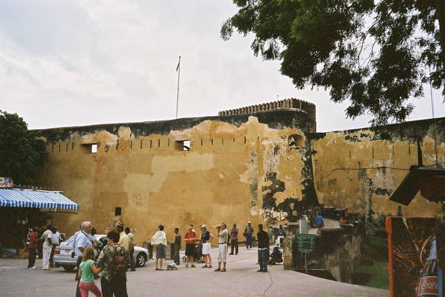 Walking tour of Fort Jesus