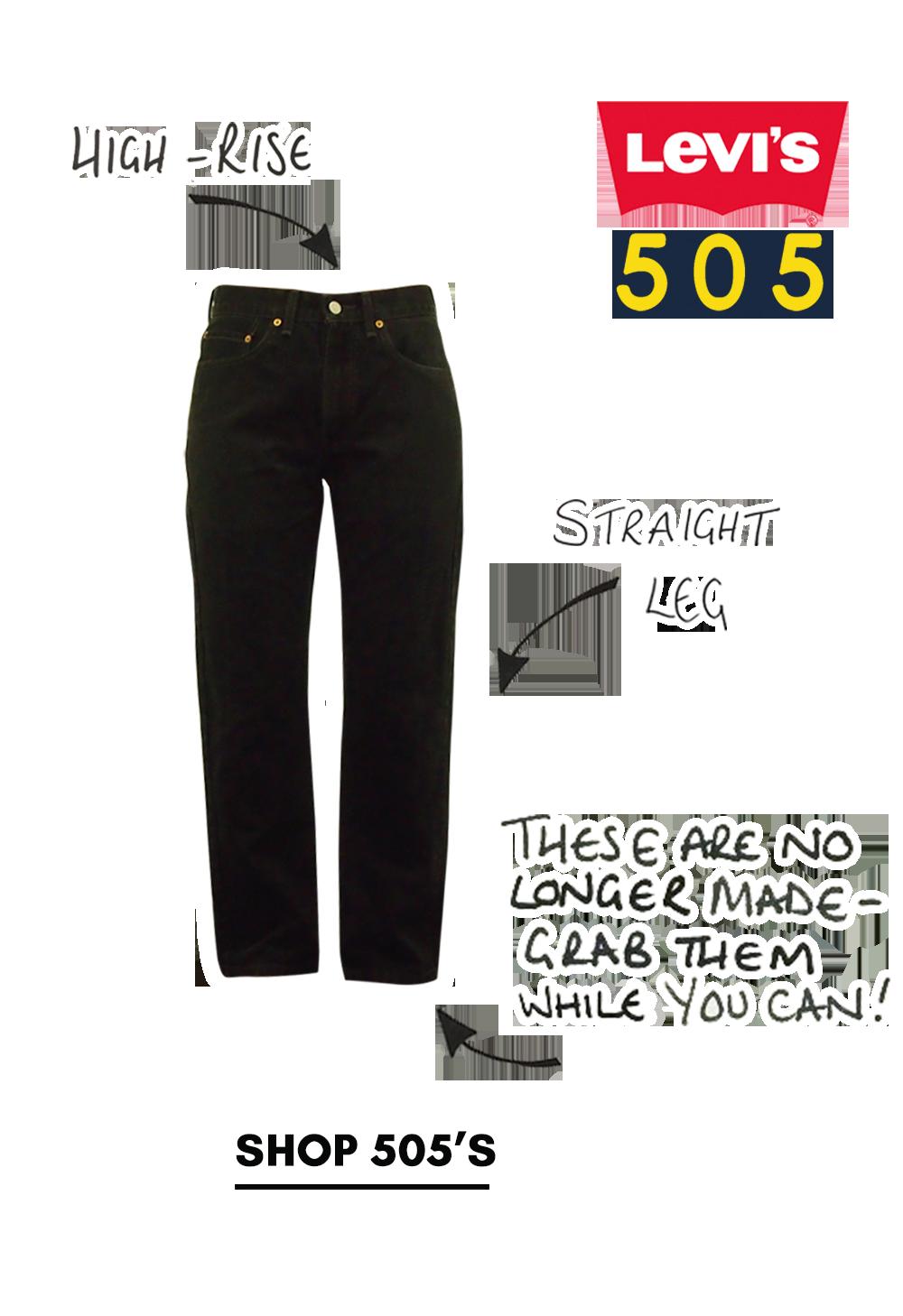 Shop levi 505