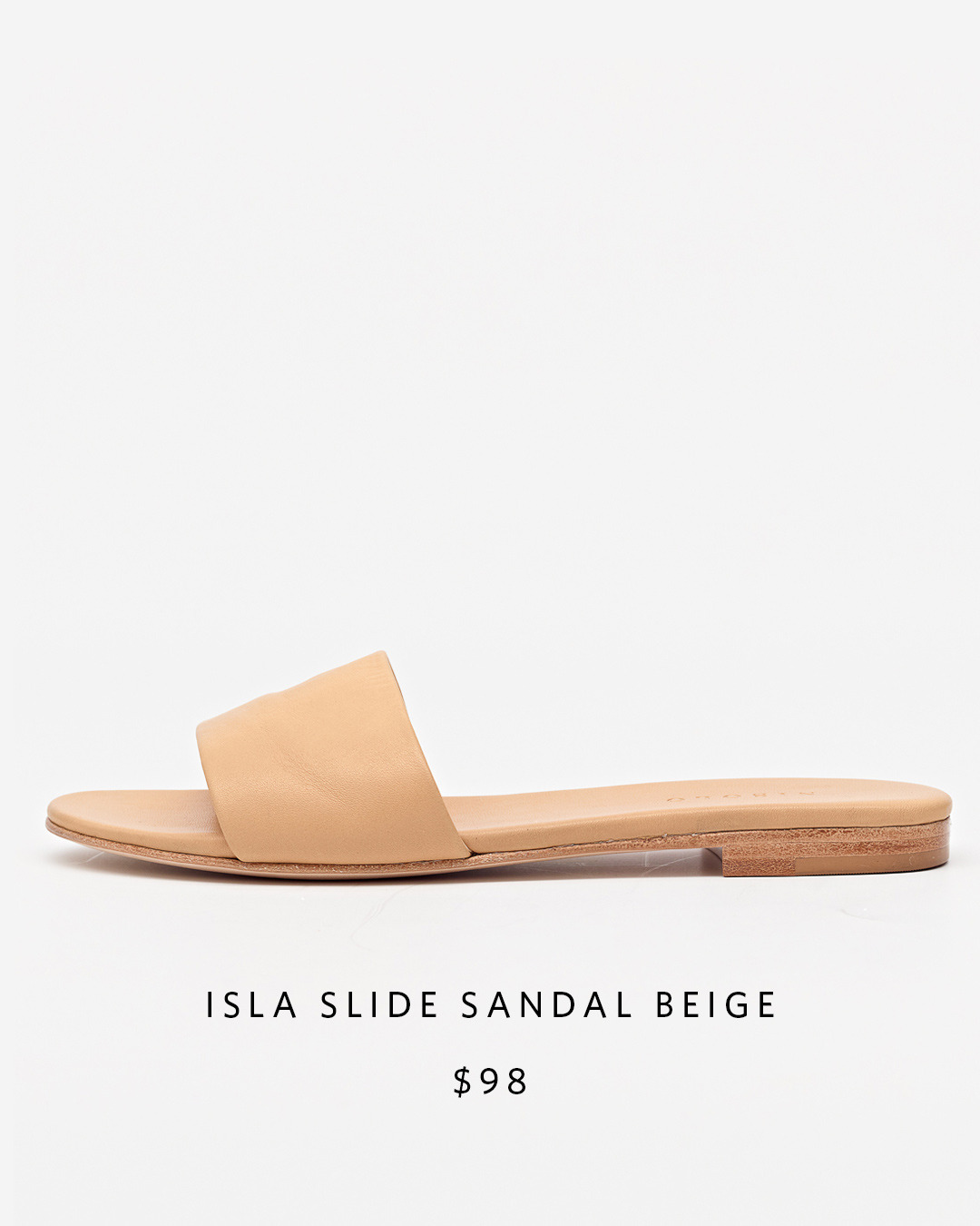 Isla Slide Sandal   Nisolo