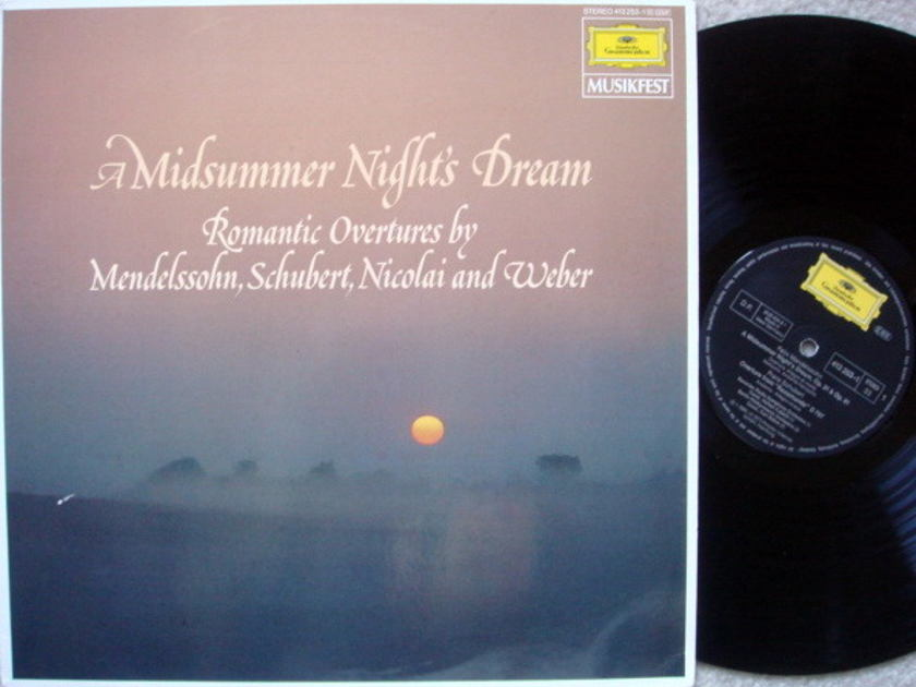 DG / KUBELIK-BOHM, - Mendelssohn A Mindsummer Night's Dream, MINT!