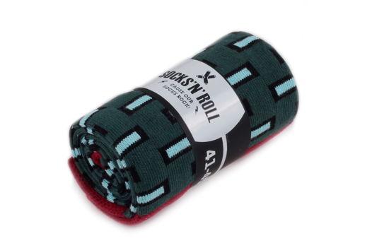 Мужские носки Socks'N'Roll - Blocks - Green