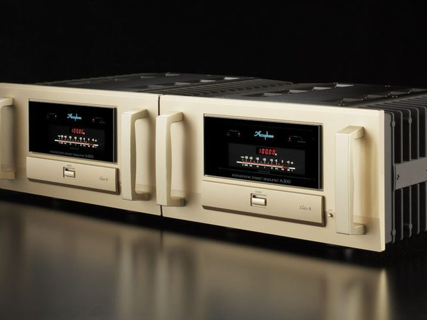 Accuphase power monoblocks M-6200