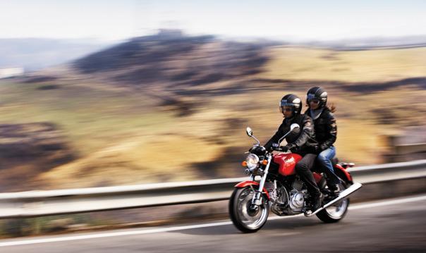 Прогулка на мотоцикле! 12+