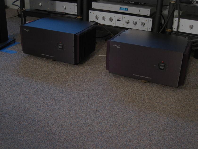 MUSE 175 monoblocks 175 w/8 ohm 350 w/4 ohm XRL and RCA