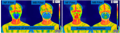Mask breathability transmission.