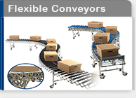 expanding gravity conveyor