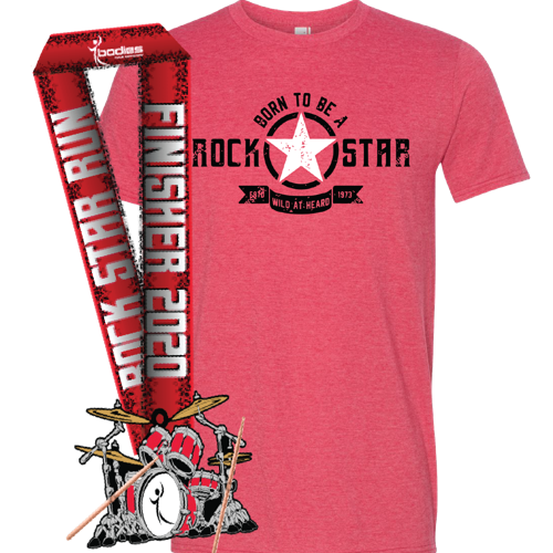 Picture of Run with us on May 3! Every participant earns a t-shirt and finisher medal.