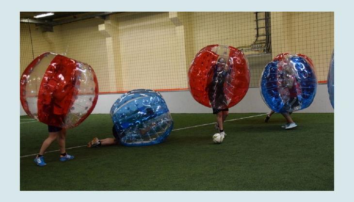 nbg bubble soccer hingefallen