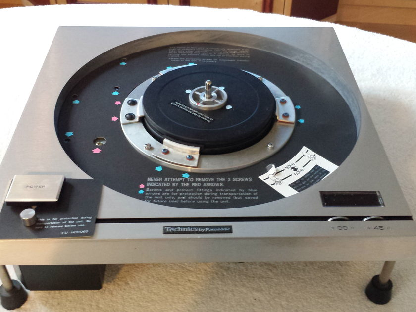 Technics SP-10 Direct Drive Turntable