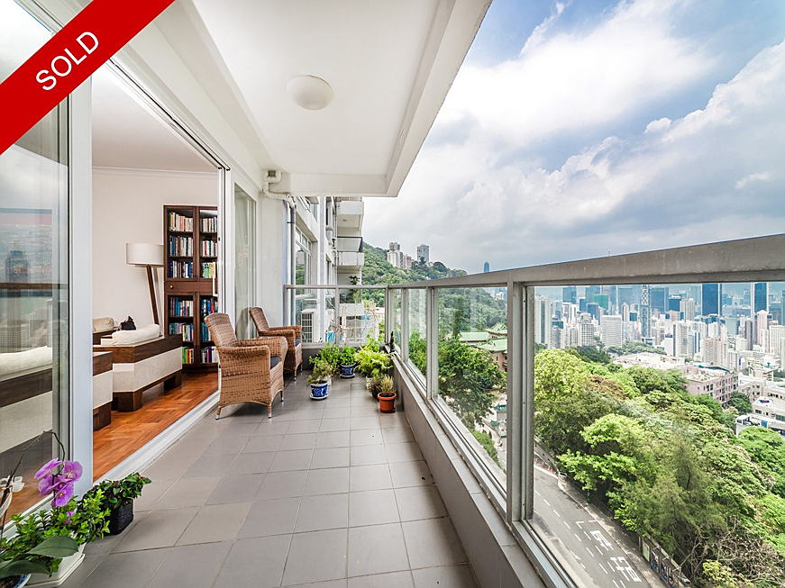 Hong Kong - Evergreen Villa, Mid Level East