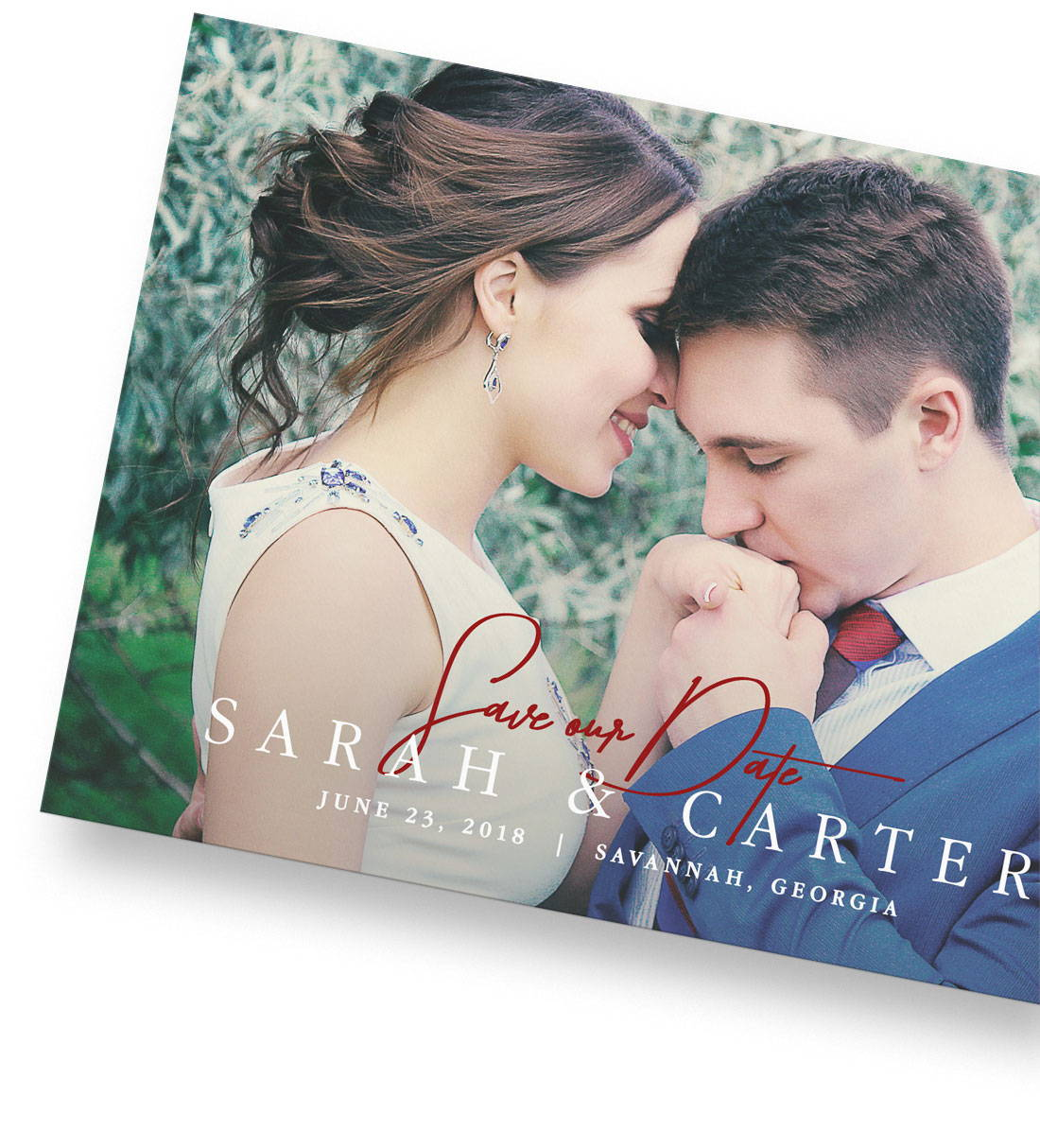 Save the Date Cards Photoshop Templates