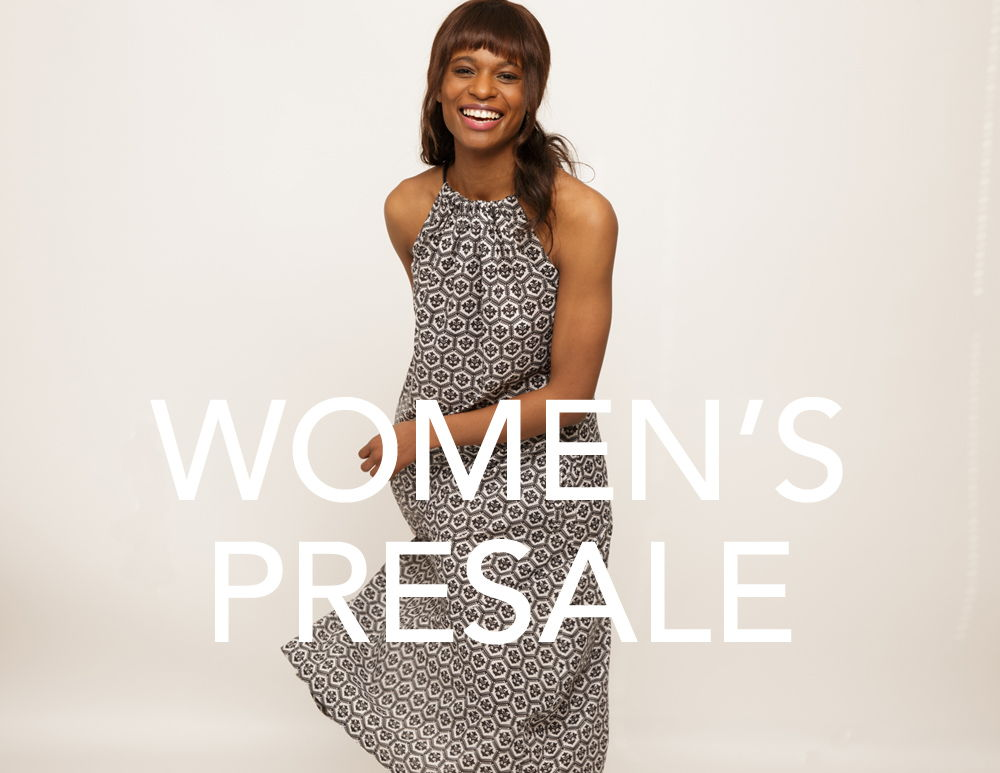 WOMEN'S PRESALE