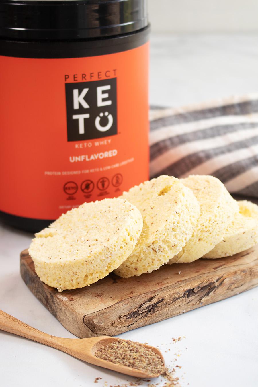 Keto Protein Mug Bread