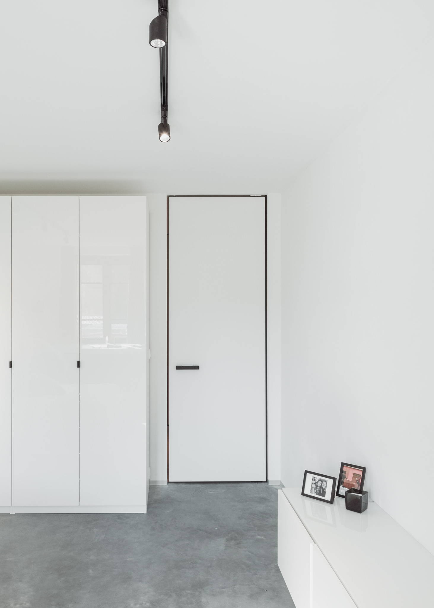 modern pivot door with invisible pivot hinge system