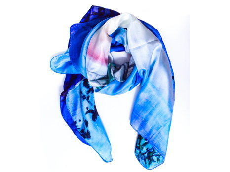 Silk Scarf from the ShawLux collection