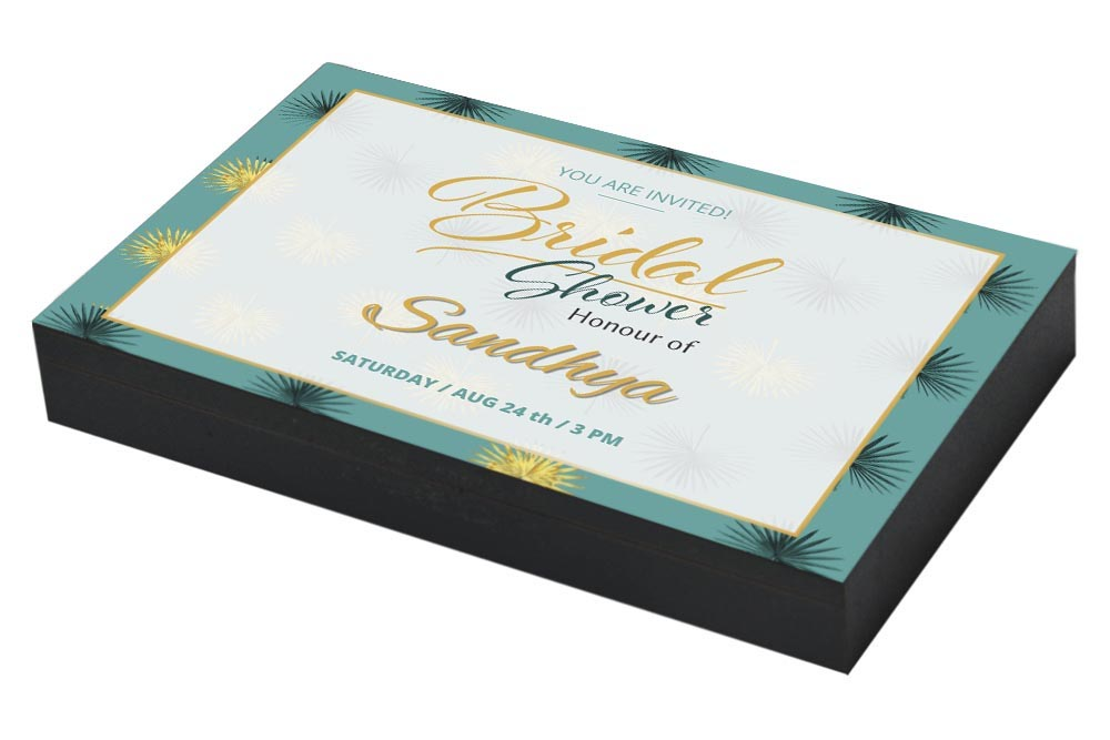 Ultra Classy Invitation for Bridal Shower