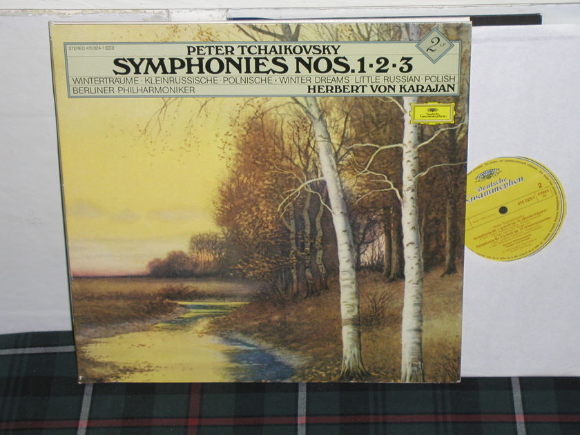Von Karajan/BPO - Tchaikovsky 13 DG German import  press 2lp