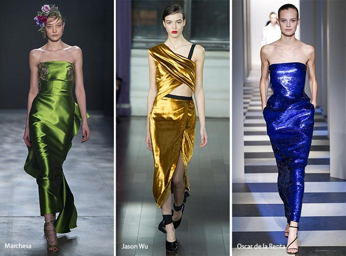 New York Fashion Week jewel tone trends