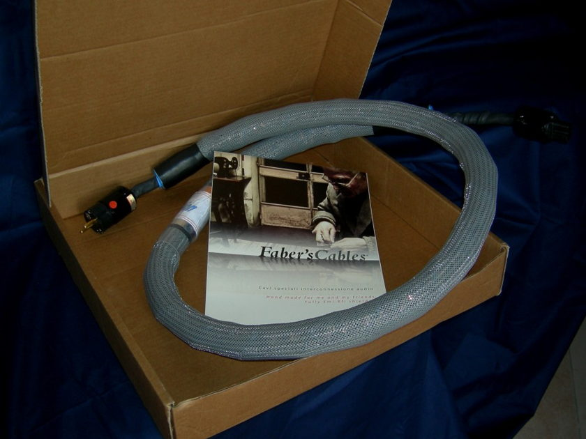 Faber's Cables XSolution Power Cord Very high-end mains leads