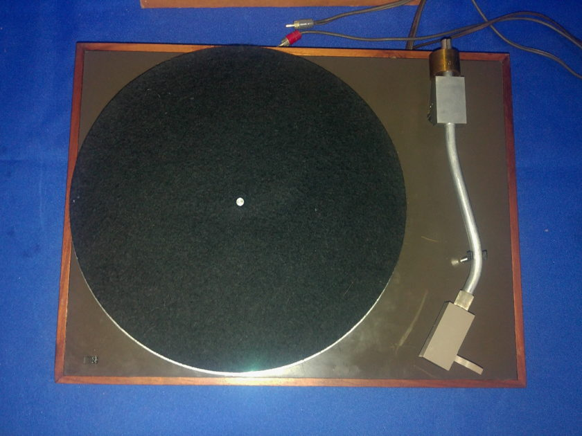 Acoustic Research AR-TA Turntable early production rare two motors version, For parts or restoration