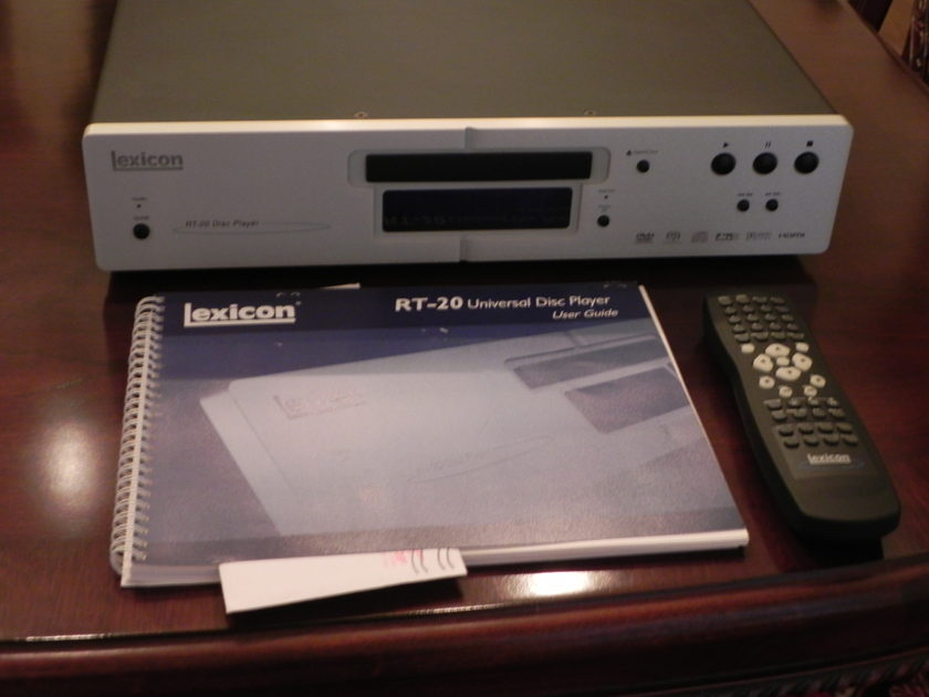 Lexicon RT-20 Universal Disk Player