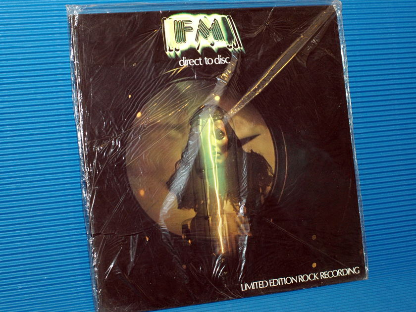"""FM - Head Room  - """"Direct to Disk"""" - Kiras Musical Works Canada Sealed 1977 d-d"""