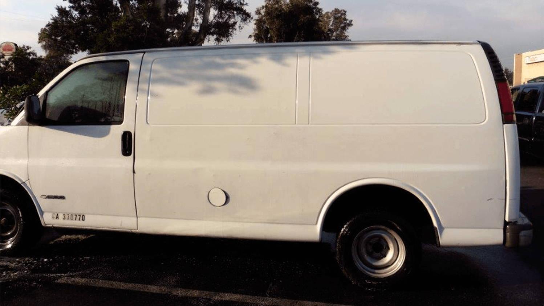 graffiti removal for van