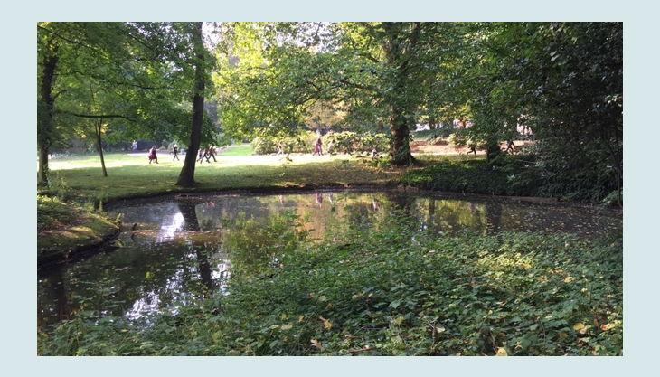 geocaching in düsseldorf suche im volksgarten