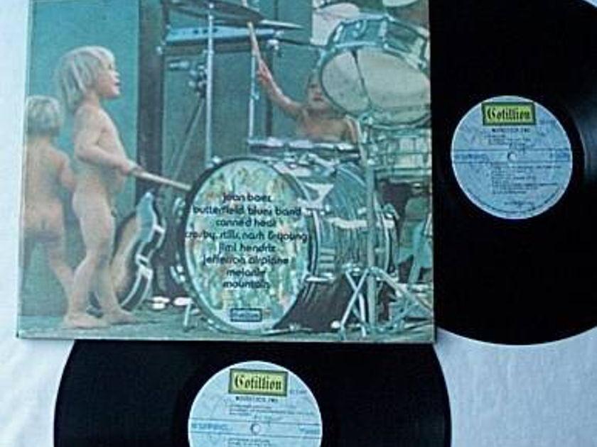 Woodstock Two 2 Lp - set-rare orig 1971 cotillion album