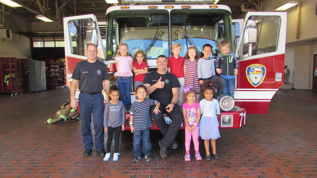 fire station, kindergarten, community, Houston fire department, HFD, daycare, child care, 77062, best, infant, toddler