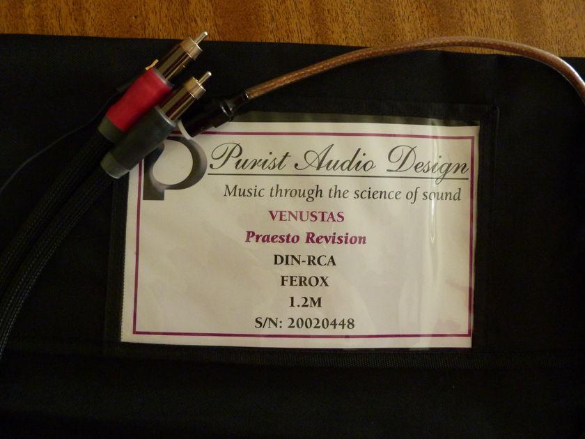 Purist Audio Design Venustas- Praesto Revision DIN to RCA