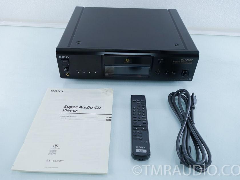 Sony SCD-XA777ES SACD / CD Player; XA777ES (9920)