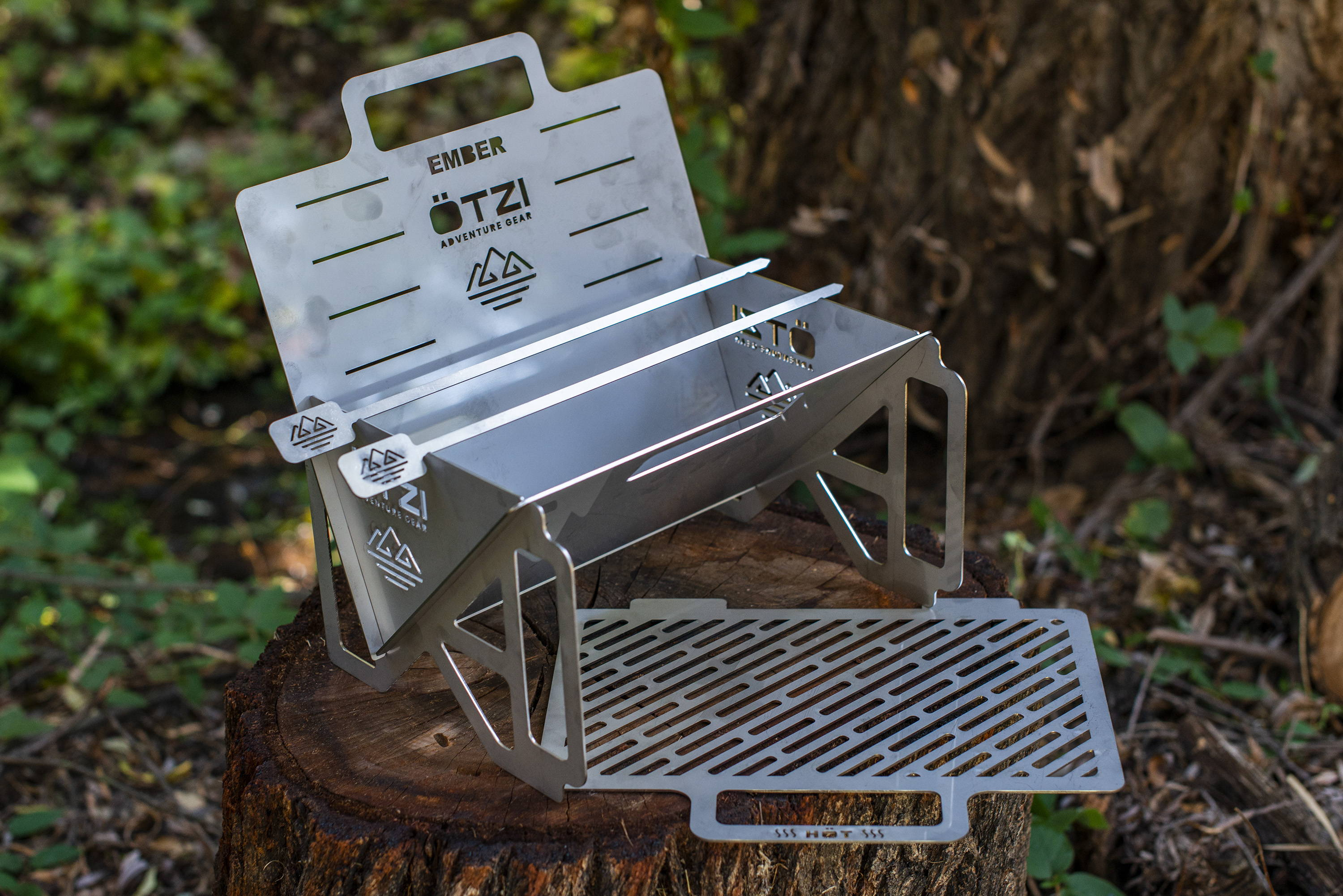 Camping bbq grill, Camping smores, Charcoal grill smoker combo