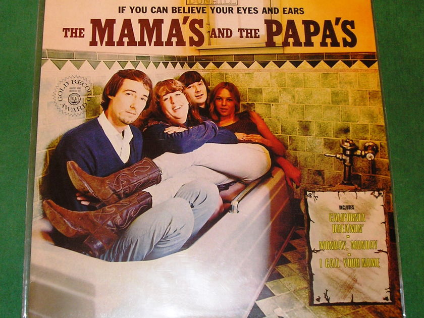 MAMA'S & The PAPA'S - * IF YOU CAN BELIEVE YOUR EYES & EARS * IMPORT - 160 GRAM PRESS