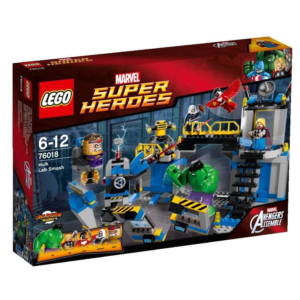 lego avengers hulk lab smash