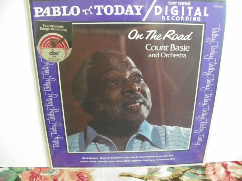 COUNT BASIE & ORCHESTRA - ON THE ROAD dbx ENCODED NM & Rare